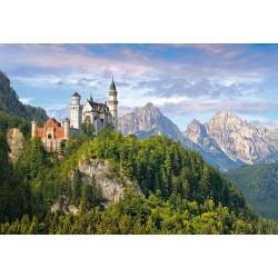 Neuschwanstein zámek, německo